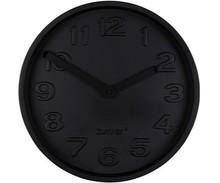 Minimalistyczny zegar ścienny TIME ALL marki ZUIVER powstał z połączenia betonu i aluminium w czarnym kolorze.  Wymiary: Głębokość: 5,4 cm...