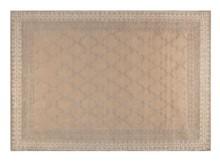 Dywan Kasba tkany ręcznie w kolorze beżowym.  Materiał: 80% wełna, 20% wiskoza Wymiary: 170 x 240 x 0,8 cm