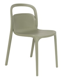 Krzesło marki Koosjer wykonane zostało z trwałego tworzywa sztucznego, dlatego może być użytkowane również na zewnątrz.  Materiał:...