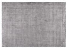 Dywan wykonany ręcznie w kolorze stalowym szarym. Materiał: 60% wiskoza, 40% poliester Wymiary: 170x240 cm