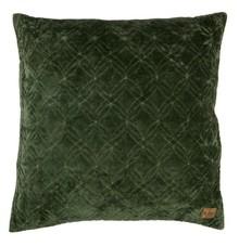 Poduszka Cherish zielona  Wymiary:  - 50x50 cm