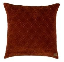 Poduszka Cherish rdzawa  Wymiary:  - 50x50 cm