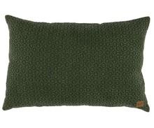 Poduszka Flatter, kolor zielony  Wymiary:  - 40x60 cm