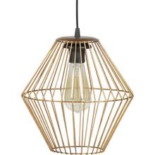 Lampa wisząca Elegant mosiężna rozmiar L  Wymiary:  - Wysokość: 29 cm - Szerokość: 26 cm - Głębokość: 26 cm  Materiał:  - metal -...