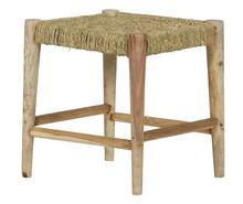 Stołek Wicker naturalne drewno  Stołek Wicker dzięki swojemu ascetycznemu wyglądowi będzie stanowił dobre dopełnienie do sofy Zen. Wykonany z drewna...