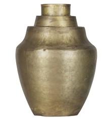 Wazon Cheer antyczny mosiądz  Waza Cheer wykonana z metalu w kolorze mosiężnym. Może być używana tylko w celach dekoracyjnych.  Wymiary:  -...