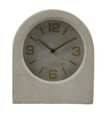 Zegar Timeless betonowy szary  Zegar Timeless wykonany jest z betonu a cyferblat i wskazówki wykończone są w kolorze mosiądzu. Rozmiary zegara...