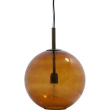 Szklana lampa kula BOLD, bardzo dobrze wkompnuje się w każdą przestrzeń.  Podsufitka wykończona jest w kolorze mosiężnym, kabel elektryczny o...
