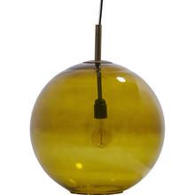 Lampa wisząca Bold zielona, rozmiar L  Szklana lampa kula BOLD, bardzo dobrze wkomponuje się w każdą przestrzeń. Podsufitka wykończona jest w kolorze...