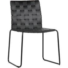 Krzesło ICON skórzane - czarne