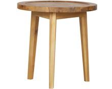 Stolik drewniany naturalny 60x45x45cm  Kolor:  - Naturalny  Wymiary:  - Wysokość: 60 cm - Długość: 45 cm - Szerokość: 45 cm  Materiał:  -...