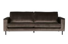 Sofa trzyosobowa Robin zielona aksamitna