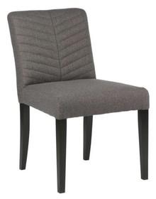 Krzesło do jadalni KEET - antracytowe
