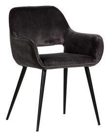 Krzesło jelle Set of 2  Kolor:  - Zielony  Wymiary:  - Wysokość: 80 cm - Szerokość: 60 cm - Głębokość: 57 cm  Materiał:  -...