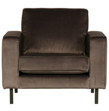 Fotel ROBIN aksamitny - zielony