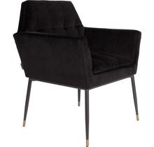 Fotel KATE - czarny