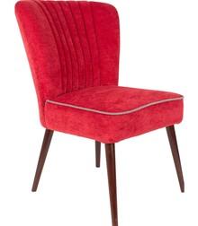 Fotel/krzesło SMOKER - czerwony