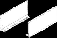 Komplet boków 770F do szuflady LEGRABOX Kolor:Brunatnoczarny Wysokość boku szuflady:F=239,9mm Wymiar zabudowy 257mm...