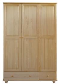 SZAFA SOSNOWA SF-07  Szafa w całości wykonana z drewna sosnowego. Duża, pojemna, solidna. Połączenie półek z drążkiem na ubrania oraz...