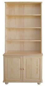 BIBLIOTECZKA SOSNOWA BIBL-41  Biblioteczka w całości wykonana z drewna sosnowego. Funkcjonalna, pojemna, solidna. Z powodzeniem pomieści i wyeksponuje...