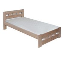 ŁÓŻKO SOSNOWE LK-83  Łóżko drewniane w całości wykonane z drewna sosnowego. Mebel dostępny w wielu wybarwieniach.  DOSTĘPNE OPCJE WYMIARÓW POD...