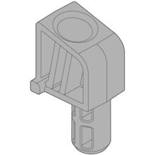 Ogranicznik kąta otwarcia 20L7051 do Aventos HL. Ograniczenia wymiarów: 124° Materiał: tworzywo Kolor / Powierzchnia: RAL 7037 ciemnoszary Mocowanie...