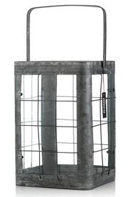 Materiał: szkło,metal<br />Kolor: szary antyczny<br />Lampion JUKE to dodatek do wnętrz , który pomimo swojego loft-owego stylu , może...