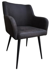 <b>Model</b>: Fotel tapicerowany Greg antracyt<br /><b>Kategoria</b>: Fotele<br /><b>Materiał</b>:...