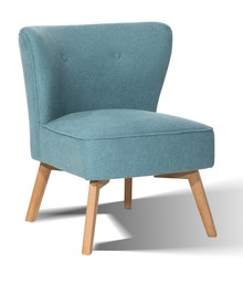 Fotel tapicerowany Andreas turkus