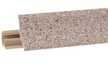 Listwa przyblatowa wykonana z tworzywa sztucznego.  Całkowita długość - 3000mm. Kolor - piasek 699