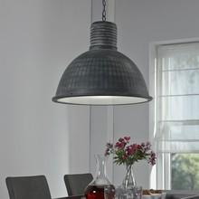 Lampa wisząca 1L/52 industrialna szara