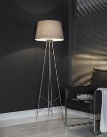 <b>Model</b>: Lampa podłogowa 1L/2P na czterech nogach szara<br /><b>Kategoria</b>: Podłogowe<br...