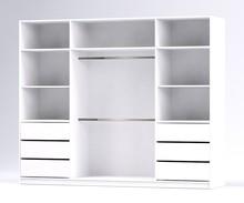 Dane techniczne: materiał (front): płyta meblowa laminowana z powierzchnią akrylową w połysku materiał (elementy wewnętrzne oraz korpus): płyta...
