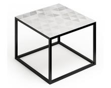 Stolik GLAST mały AA027  Zestaw nowoczesnych, minimalistycznych mebli do pokoju dziennego idealnie komponujący się w małych pomieszczeniach....