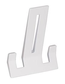 Wieszak Z234firmy Schwinnwykonany z metalu kolor biały półmat. Rozstaw wierceń 32mm.  Wieszak o prostym kształcie będzie świetnie...