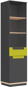 Regał 1-drzwiowy z szufladą WOW 01 TRENDLINE