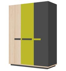 Szukasz pojemnej szafy, która pomieści wszystkie elementy garderoby Twojego dziecka? Idealnym rozwiązaniem będzie projekt z kolekcji Wow. Ta trzydrzwiowa...
