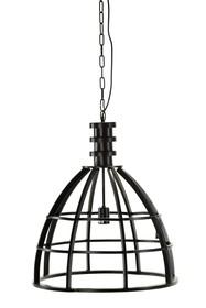 Materiał:metal<br />Długość łańcucha: 109 cm.<br />Źródło światła: 1xE27 max 40W (brak w komplecie)<br />Lampa...
