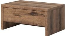 Indira - stolik nocny  INDIRA to sypialnia charakteryzująca się bardzo funkcjonalnymi rozwiązaniami. W modelu tym dostępna jest bardzo przestronna szafa...