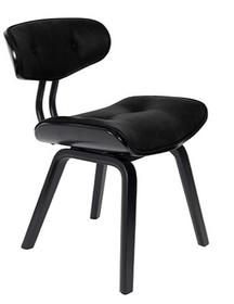 Krzesło BLACKWOOD - czarne