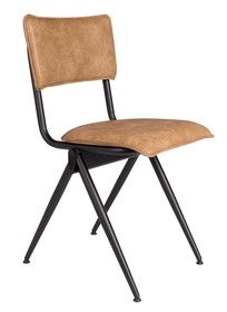 Materiał: stal malowana proszkowo, skóra ekologiczna  Wymiary: 39,5x54,5x82,5 Wysokość siedzenia: 50 Głębokość siedzenia: 41  Waga: 14,6kg