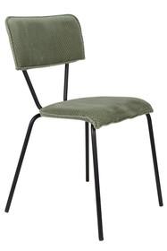 Kolor: zielony melon  Materiał: aksamit  Wymiary: 51x54x81,5 Wysokość siedzenia: 49 Głębokość siedzenia: 40
