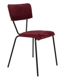 Krzesło MELONIE - bordowe