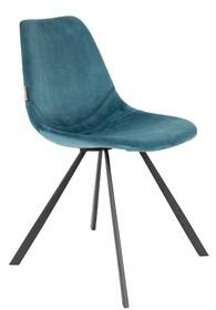 Krzesło FRANKY - niebieskie