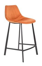 Kolor: pomarańczowy Materiał: 100% poliester aksamit  Wymiary: 45x52x91 Wysokość siedzenia: 65 Głębokość siedzenia: 40 Wysokość nóg: 20,5 ...