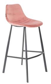 Kolor: różowy Materiał: 100% poliester aksamit  Wymiary: 50x54x106 Wysokość siedzenia: 80 Głębokość siedzenia: 40 Wysokość nóg: 34  Waga: 18kg