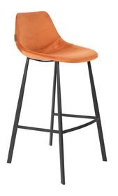 Kolor: pomarańczowy  Materiał: 100% poliester aksamit  Wymiary: 50x54x106 Wysokość siedzenia: 80 Głębokość siedzenia: 40 Wysokość nóg: 34 ...