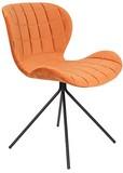 Kolor: pomarańczowy  Materiał: 100% poliester aksamit  Wymiary: 51x56x80 cm (WxDxH)  Wysokość siedzenia: 47 cm  Głębokość siedzenia: 42 cm ...