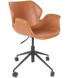 Kolor: brązowy  Wymiary: 77x77,5/90 cm (Ø x H)  Wysokość siedzenia: 44/56,5 cm  Głębokość siedzenia: 42 cm  Maksymalne obiążenie: 100 kg