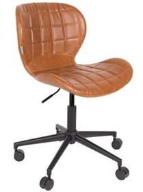 Krzesło biurowe OMG LL brązowe